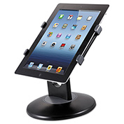"Kantek Tablet Stand, TS710, 7-10"" Tablets, ABS Plastic, Black"