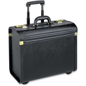 Lorell® Travel/Luggage Case (Roller) for Travel Essential - Black