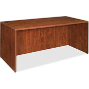 "Lorell® 69000 Series Rectangular Desk Shell, 66""W x 30""D x 29-1/2""H, Cherry"