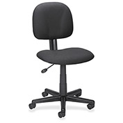 Lorell Multi-Task Adjustable Chair, LLR84863, Fabric, Black