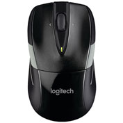 Logitech 910-002696 M525 Full-Size Wireless Mouse, Black