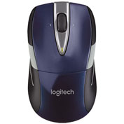 Logitech 910-002698 M525 Full-Size Wireless Mouse, Blue