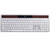 Logitech Solar Keyboard, 920003472, For Mac, Wireless, Silver