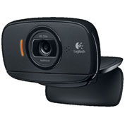 Logitech 960-000715 C525 HD Webcam with Built-in Mic, Black