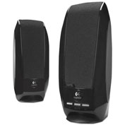 Logitech S-150 USB Digital Speaker System, LOG980-000028, 1.2 W RMS Output, 90 Hz to 20 kHz