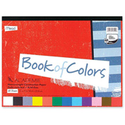 "Mead® Academia Book of Colors, 9""x12"", Assorted, 48 Sheets"