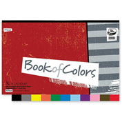 "Mead® Academia Book of Colors, 12""x18"", Assorted, 48 Sheets"