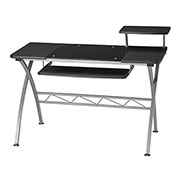 "Mayline Vision Desk, 47-1/4""x27""x34"", Anthracite"