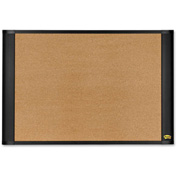 "Post-it Bulletin Board with Graphite Frame, 36""W x 24""H"