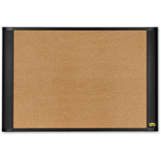 "Post-it Bulletin Board with Graphite Frame, 48""W x 36""H"