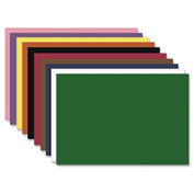 "Nature Saver® Construction Paper, 12""x18"", Assorted, 50 Sheets"
