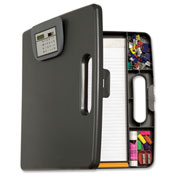Officemate® Portable Clipboard Case w/ Calculator 83372