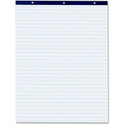 "Pacon Easel Pad - 50 Sheet - Ruled - 27"" x 34"" - 50/Pad - White Paper"