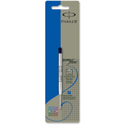 Parker® Refillable Ballpoint Pen, Blue Ink,  Barrel, Fine Tip, 1 Each
