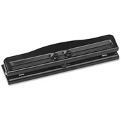 Sparco Adjustable Heavy-Duty Three-Hole Punch 10 Sheet Capacity