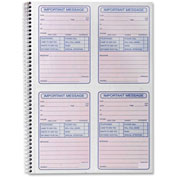 "Sparco Telephone Message Book 200 Sets 11"" x 8-1/4"""