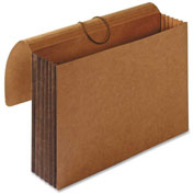 """Accordion Wallets, Letter, 5-1/4"""" Exp, 12-3/8""""x10"""", Brown"""