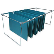 Hanging File Folder Frames, Letter, Stainless Steel