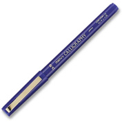 Marvy Calligraphy Marker Medium Pen Point Type 3.5mm Pen Point Size Blue Ink & Barrel
