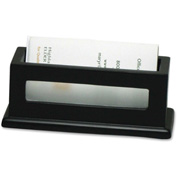 Victor® Midnight Black Business Card Holder