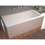 Atlantis Whirlpools Soho Rectangular Air Massage Bathtub, 32 x 60, Left Drain, White