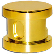 SteamSpa G-SHGOLD Steamhead w/Aroma Therapy Reservoir, Polished Brass