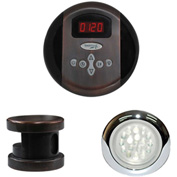 SteamSpa Indulgence INPKOB Control Kit, Oil Rubbed Bronze