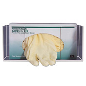 "Glove Box Holder, Single, 11""W x 3-1/2""D x 4-3/4""H, Clear"