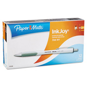 Paper Mate® InkJoy 700RT Retractable Ballpoint Pen, 1.0 mm, Black Ink, White Barrel - Pkg Qty 12