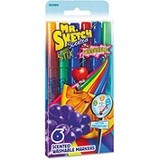 Mr. Sketch® Washable Markers - Stix - Assorted Colors - 6 Pack