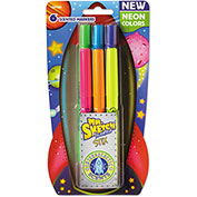 Mr. Sketch® Scented Stix Markers - Assorted Intergalatic Neon Colors - 6 Pack