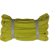 "Safeway SR-3X03 1"" x 3' Saf/Grip Endless Polyester Round Sling, Yellow"