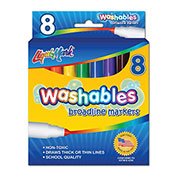 Liqui-Mark Washables Markers (pack of 8)