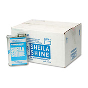 Sheila Shine Stainless Steel Cleaner & Polish, 1 Quart Can 12/Case SHE2CT