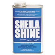 Sheila Shine Stainless Steel Cleaner & Polish, Gallon Can 4/Case - SHE4CT