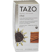 Starbucks® Tazo Organic Tea, Chai Spice, Single Cup Bags, 24/Box