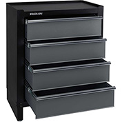 Stack-On-Modular 4-Drawer Project Center-AGS-PC-4DR