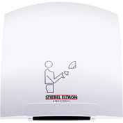 Stiebel Eltron Galaxy 1 Polycarbonate/ABS Automatic Hand Dryer White - 120V
