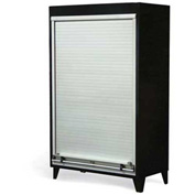 """Strong Hold Heavy Duty Roll-Up Door Storage Cabinet 46-RUDD-244 - 48""""W x 24""""D x 78""""H"""