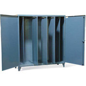"Strong Hold Cabinet with Slide Out Partitions 66-240-5SOP - 72""W x 24""D x 78""H"