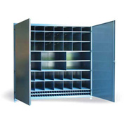 "Strong Hold Multi-Compartment Cabinet 8.47.6-518-110OP - 100""W x 51""D x 93""H"