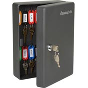 "SentrySafe 25 Key Capacity, Key Box, Key Lock, 7-7/16""W x 3-7/16""D x 9-13/16""H, Black"