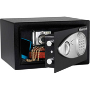 "SentrySafe Security Safe X041E - Electronic Lock, 11-7/16""W x 10-7/16""D x 7-5/8""H, Black"