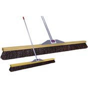 "Super Sweep Inc. 48"" Maroon Poly Super Sweeper Broom - 1000-101048"