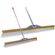 "Super Sweep Inc. 48"" Gray Flagged Super Sweeper Broom - 1000-407048"