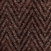 "NoTrax Arrow Trax Antimicrobial 3/8"" Thick Entrance Floor Mat, 3' x 10' Autumn Brown"