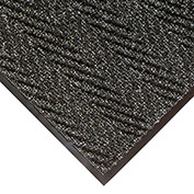 """NoTrax Arrow Trax Antimicrobial 3/8"""" Thick Entrance Floor Mat, 3' x 10' Charcoal"""