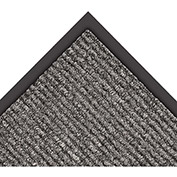 "NoTrax Estes 3/8"" Thick Entrance Floor Mat, 3' x 10' Charcoal"