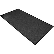 "NoTrax Polynib 3/8"" Thick Entrance Floor Mat, 3' x 6' Charcoal"