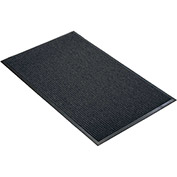 "NoTrax Guzzler 3/8"" Thick Entrance Floor Mat, 3' x 4' Charcoal"